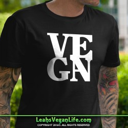 Vegan Letter Box T-Shirt