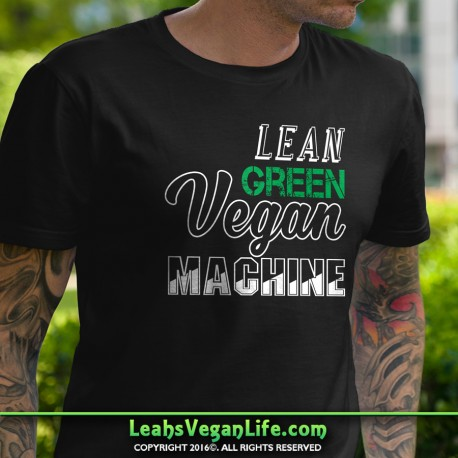 Lean Green Vegan Machine T-Shirt