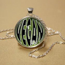 Vegan Dome Pendant