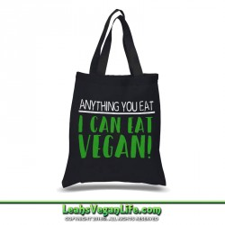 Animals Are My Friends Vegan Canvas Tote Bag - 100% Cotton