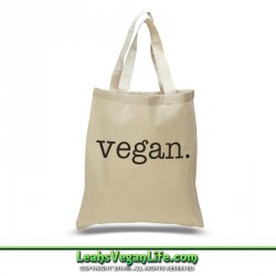 Vegan is the New Sexy Canvas Tote Bag - 100% Cotton