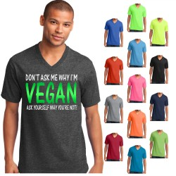 Don't Ask Me Why I'm Vegan T-Shirt 2
